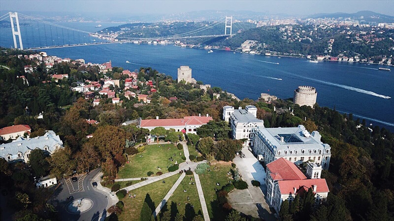 Aerial View of Boğaziçi University!